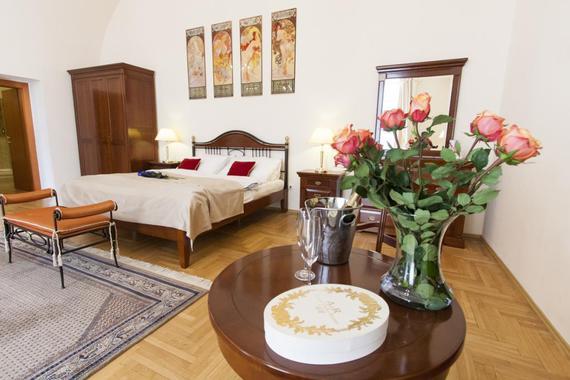 Hotel Modrá růže foto 2