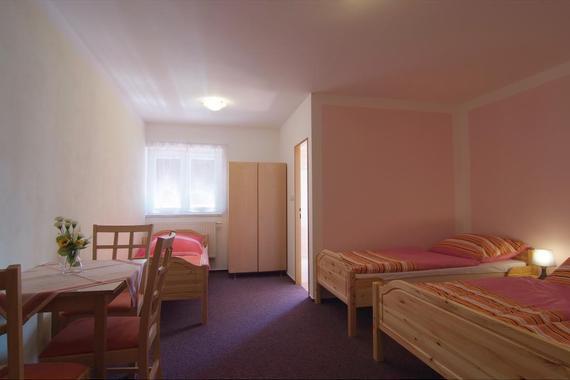 Pokoj č.3 pro 4 osoby