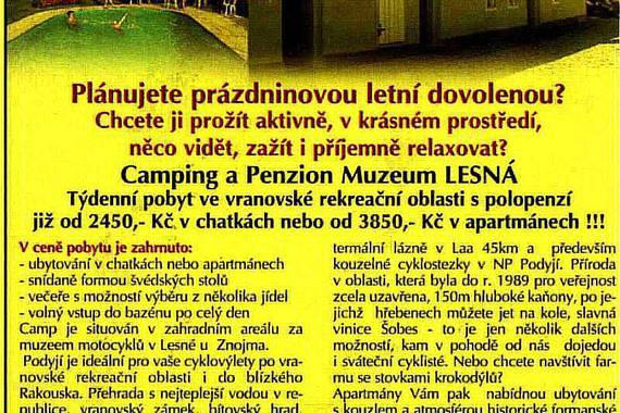 Penzion a Camping MUZEUM Lesná foto 30