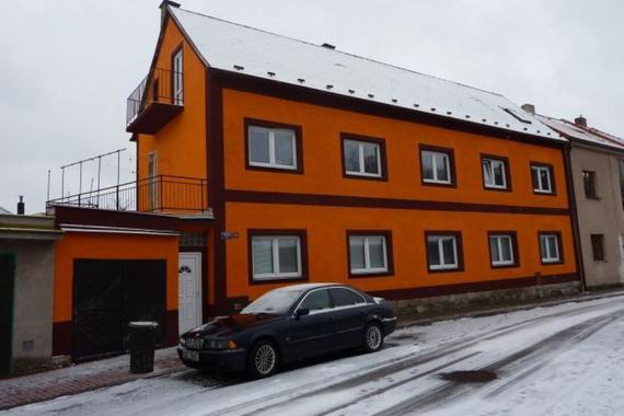 budova penzionu Chrudimák