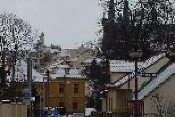 výhled z penzionu Chrudimák