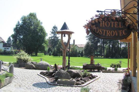 Hotel Ostrovec Volyně foto 6