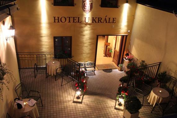 Hotel U krále & apartmány foto 12