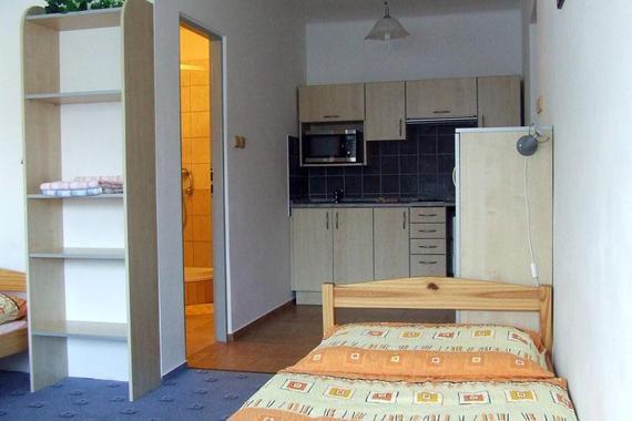 apartmám v přízemí