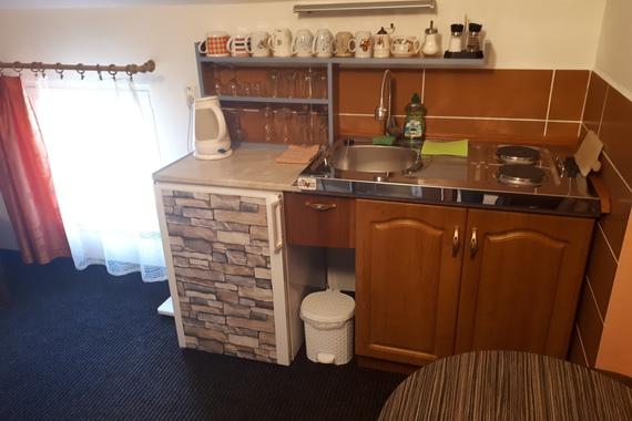 Apartmán č. 12 kuchyňka