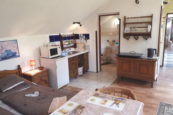 Apartmán č. 10 , kuchyňka