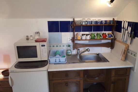 Apartmám č. 10 , kuchyňka