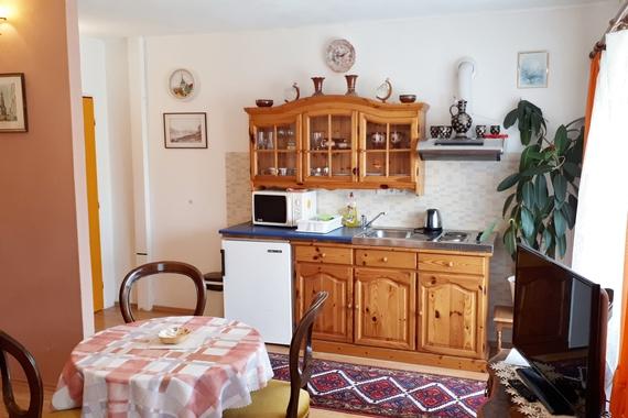 Apartmán č. 5 , kuchyňka