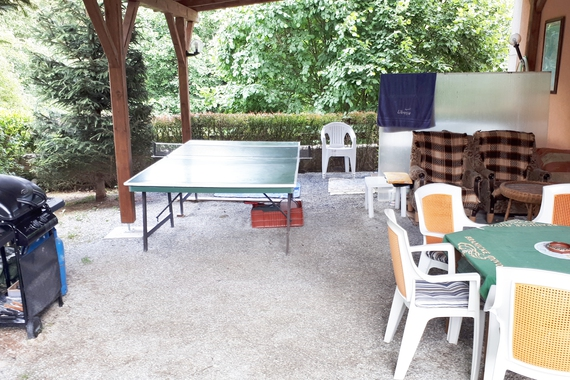 Pergola, gril, tenis,vířivka