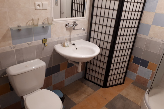Apartmán č. 5 , koupelna