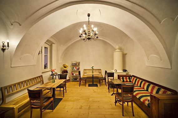 Penzion Café fara v Klentnici foto 4