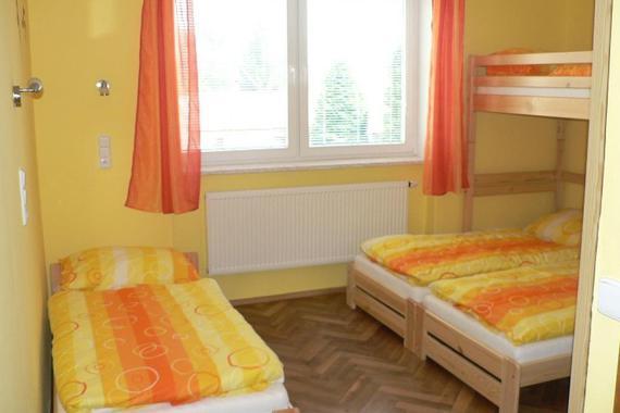 čtyřlůžkový pokoj pokoj č.2