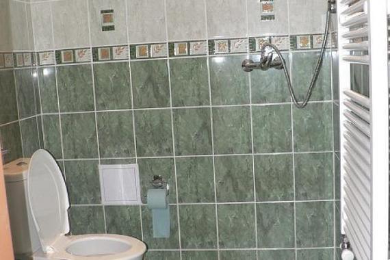 WC+sprcha pokoj č.1
