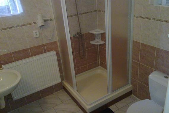 Koupelna pokoje 1+2