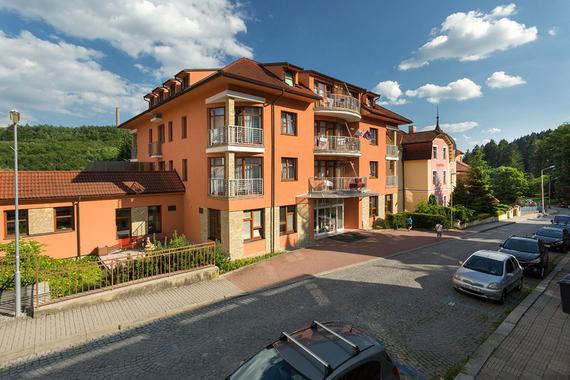 Lázeňský hotel Vila Antoaneta Luhačovice foto 1