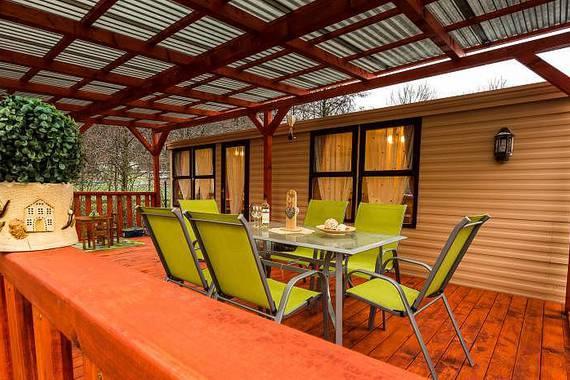 Venkovní terasa Letní domek