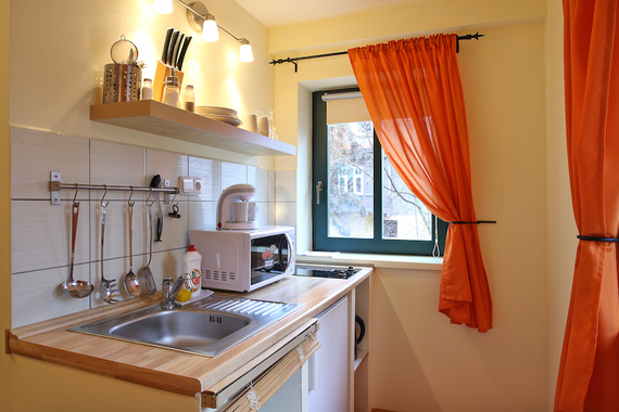 Apartmán č.1 Standart kuchyň
