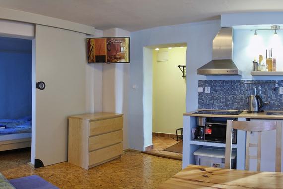 Apartmán č.2 Superior obývací pokoj