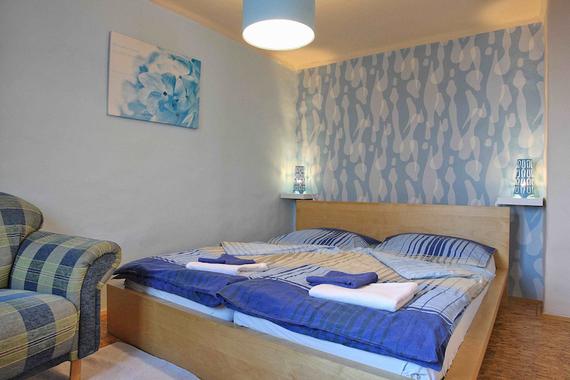 Apartmán č.2 Superior ložnice
