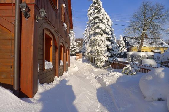 Rodinné ubytování Chaloupka Sněžník foto 39