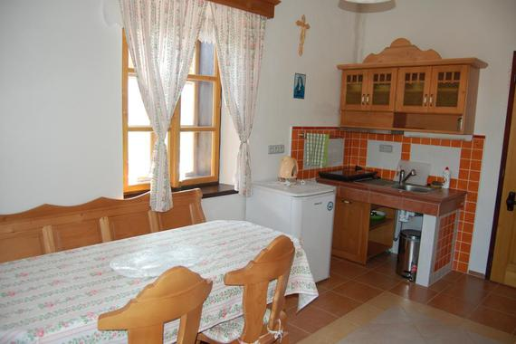 ap. č. 1 - obývací kuchyň