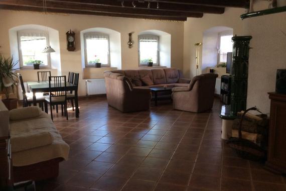 obývací pokoj-původní část
