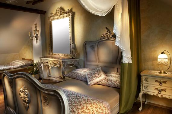 Stylový romantický pokoj