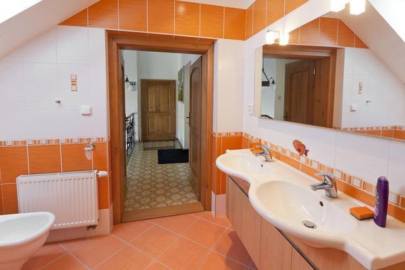Koupelna apartmánu 1