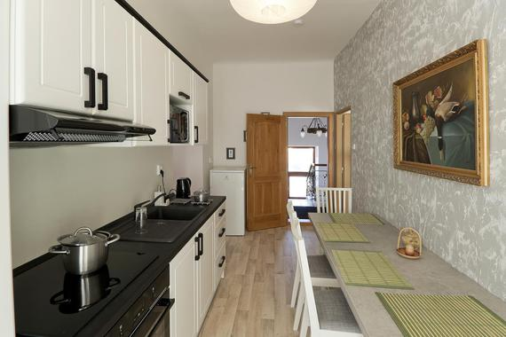 Kuchyň - apartmán 1