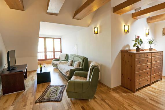 Obývací část - apartmán 1