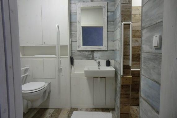 Provence koupelna bezbariérová