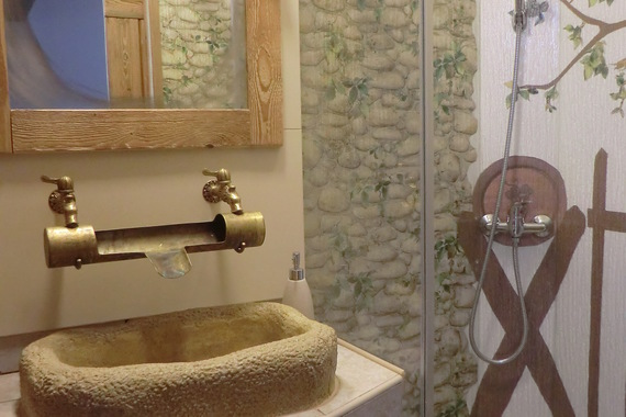 Staročeský pokoj koupelna