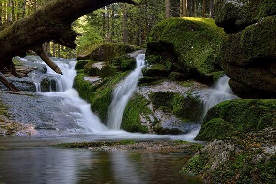 vodopády Jedlový důl