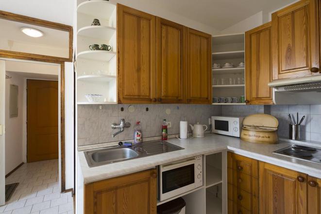 Apartmán Pod schůdky - kuchyň