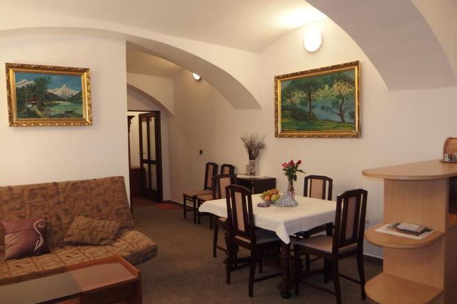 Apartmán u Granátové skály: Obývací pokoj