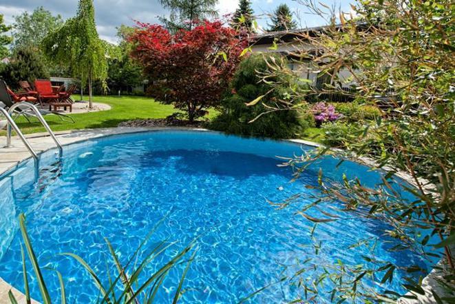 Bazén, terasa