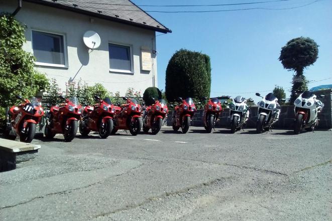 Setkání motorkářů PENZION KUNC I