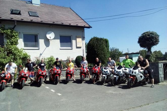 KUNC I setkání motorkářů