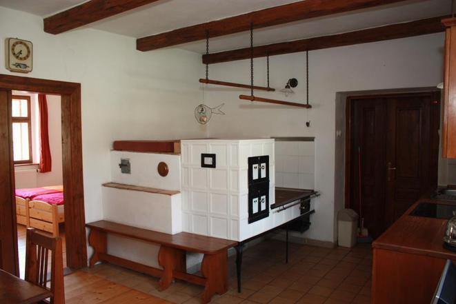 obytná kuchyně apartmánu č.4
