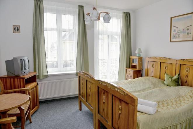 Dvoulůžkový pokoj s balkonem