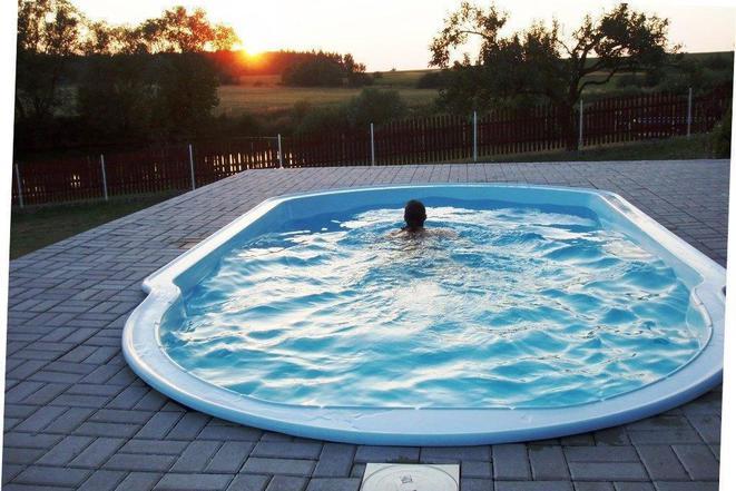 Bazén pro domek Smrž 5x3 m