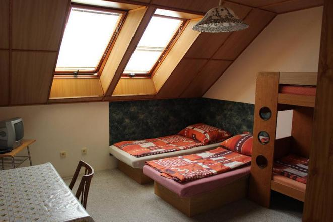 Pokoj v objektu penzion U Hašků.