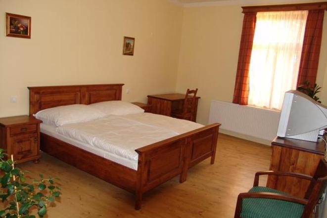Penzion - dvoulůžkový pokoj