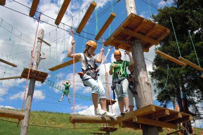 Lanový a aktiv park Lipno pro celou rodinu.