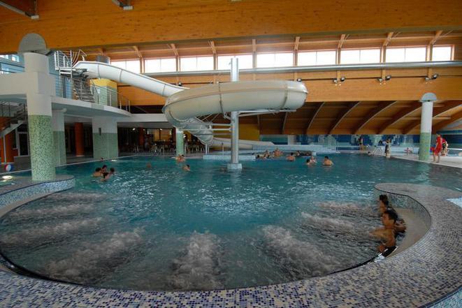 Aquapark a saunový svět