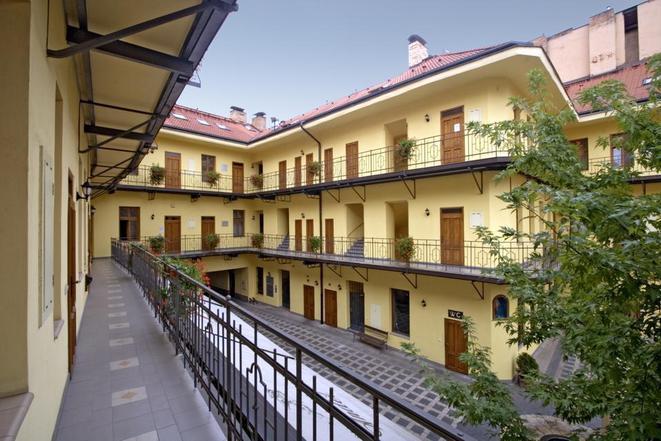 Pension Anděl Apartments Praha vnitroblok