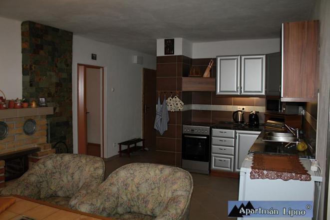 apartmán 2 obývák kuchyn
