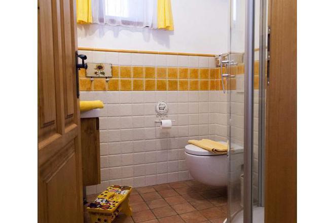 Žlutý pokoj - koupelna